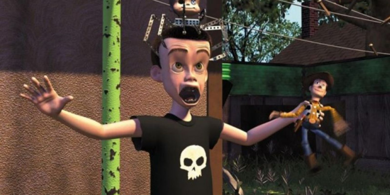 """9.- La producción planeaba usar muñecos de acción """"G.I Joe"""", pero la marca de juguetes se enteró que Sid los haría explotar y negaron el permiso. Foto:Facebook/Toy Story"""