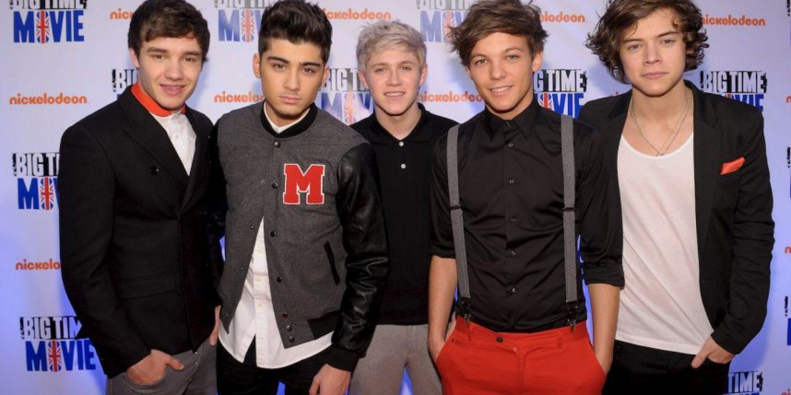 Esta compuesto por Niall Horan, Zayn Malik, Liam Payne, Harry Styles y Louis Tomlinson Foto:Getty Images
