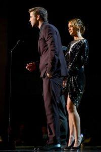 """Ambos son parte del elenco de """"Los Juegos del Hambre"""" Foto:Getty Images"""