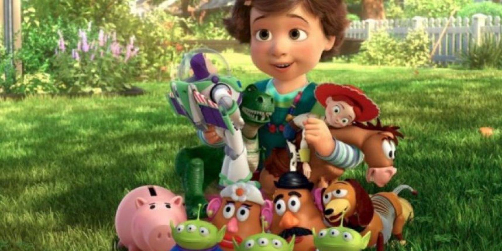 """7.- """"Toy Story 3"""" es la quinta película más taquillera de todos los tiempos Foto:Facebook/Toy Story"""