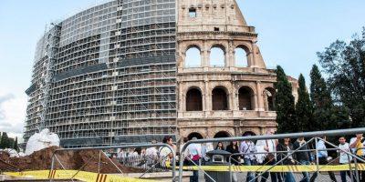Es un anfiteatro construido en el Siglo I Foto:Getty Images