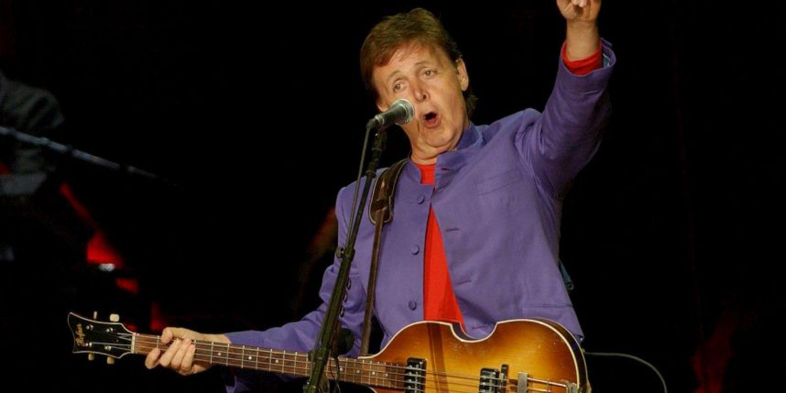 También ha sido sede de conciertos, como el ex Beatle Paul McCartney Foto:Getty Images