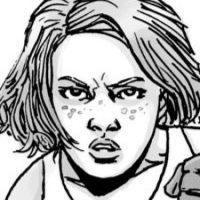 Sophia es una niña que perdió a su padre después del ataque zombie Mientras que en el cómic logra vivir, en la serie Sophia se convierte en un zombie. Foto:thewalkingdead.com