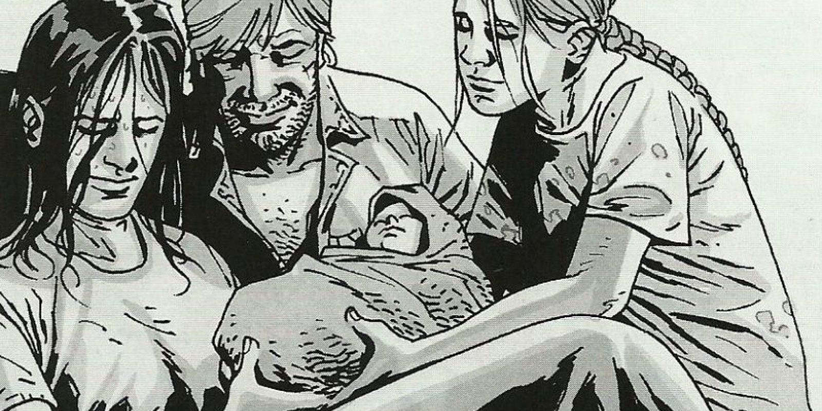 En la serie, Lori muere mientras da a luz a su hija, pero en el cómic, ambas mueren por un ataque del Gobernador a la prisión. Foto:thewalkingdead.com