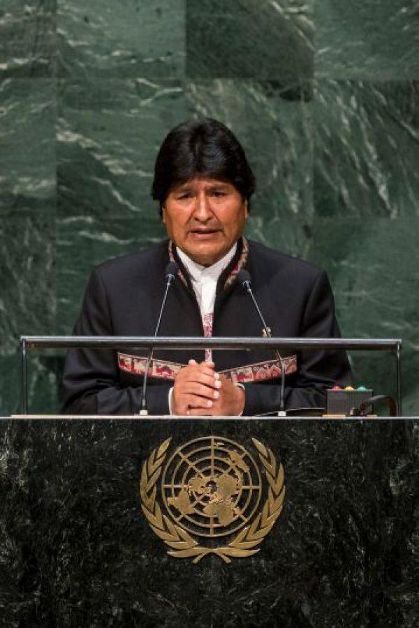 Evo Morales: 2014, en la Asamblea General de las Naciones Unidas Foto: Getty Images