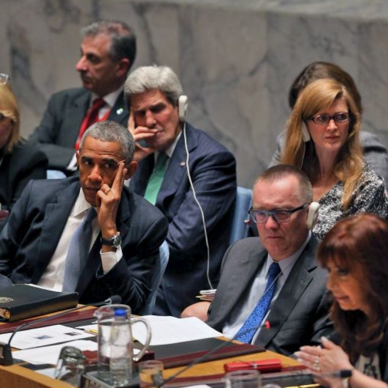 Cristina Fernández de Kirchnner: 2014, Asamblea General de las Naciones Unidas Foto:Getty Images