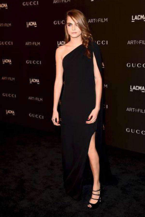Ganadora del premio a la modelo del año en los Premios de la Moda Británica 2012 Foto:Getty Images