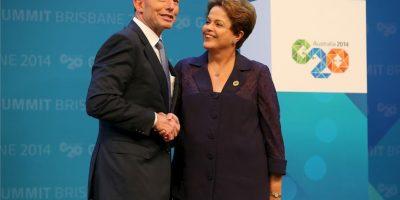 Dilma Rousseff: 2014, en la cumbre del G20 Foto:Getty Images