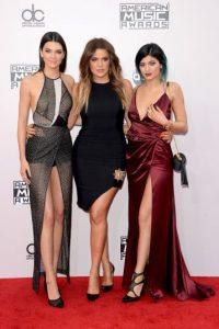 Kendall Jenner, Khloe Kardashian y Kylie Jenner Foto:Getty Images