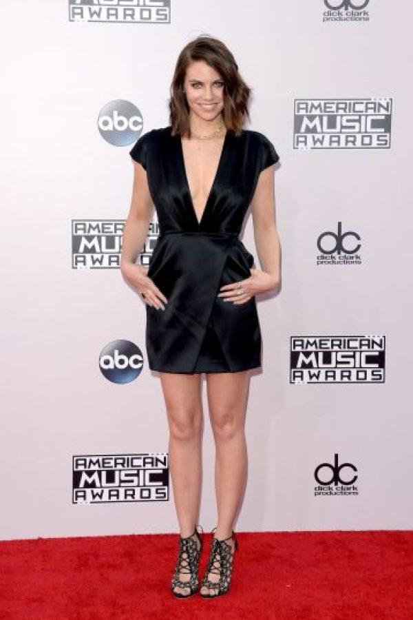 La actriz Lauren Cohan Foto:Getty Images