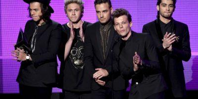Así recibieron el premio a mejor Dúo/Grupo de Pop/Rick Foto:Getty Images