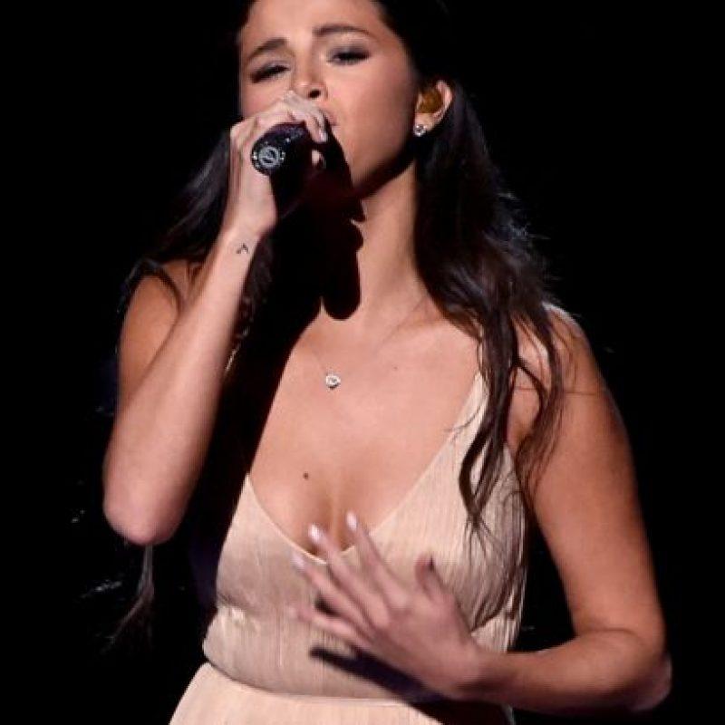 Selena Gomez realizó una interpretación muy emocional Foto:Getty Images