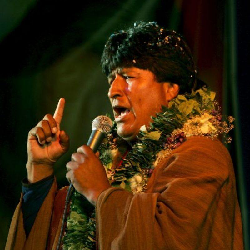 Evo Morales: 2005, como candidato Foto: Getty Images