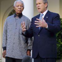 El expresidente de Sudáfrica, Nelson Mandela Foto:Getty Images
