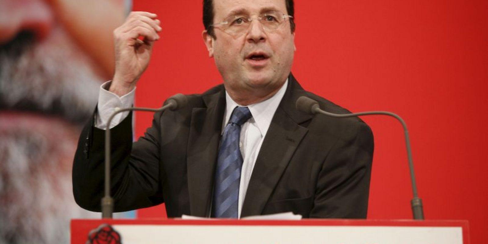 Francois Hollande: 2007, como líder del partido socialista Foto:Getty Images