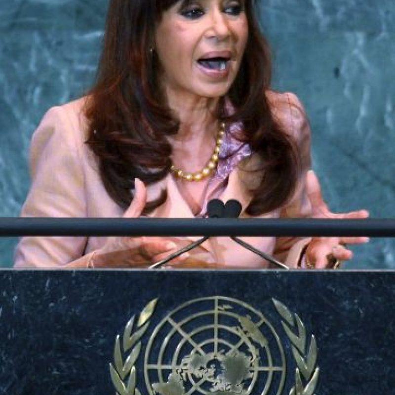 Cristina Fernández de Kirchnner: 2008, Asamblea General de las Naciones Unidas Foto:Getty Images