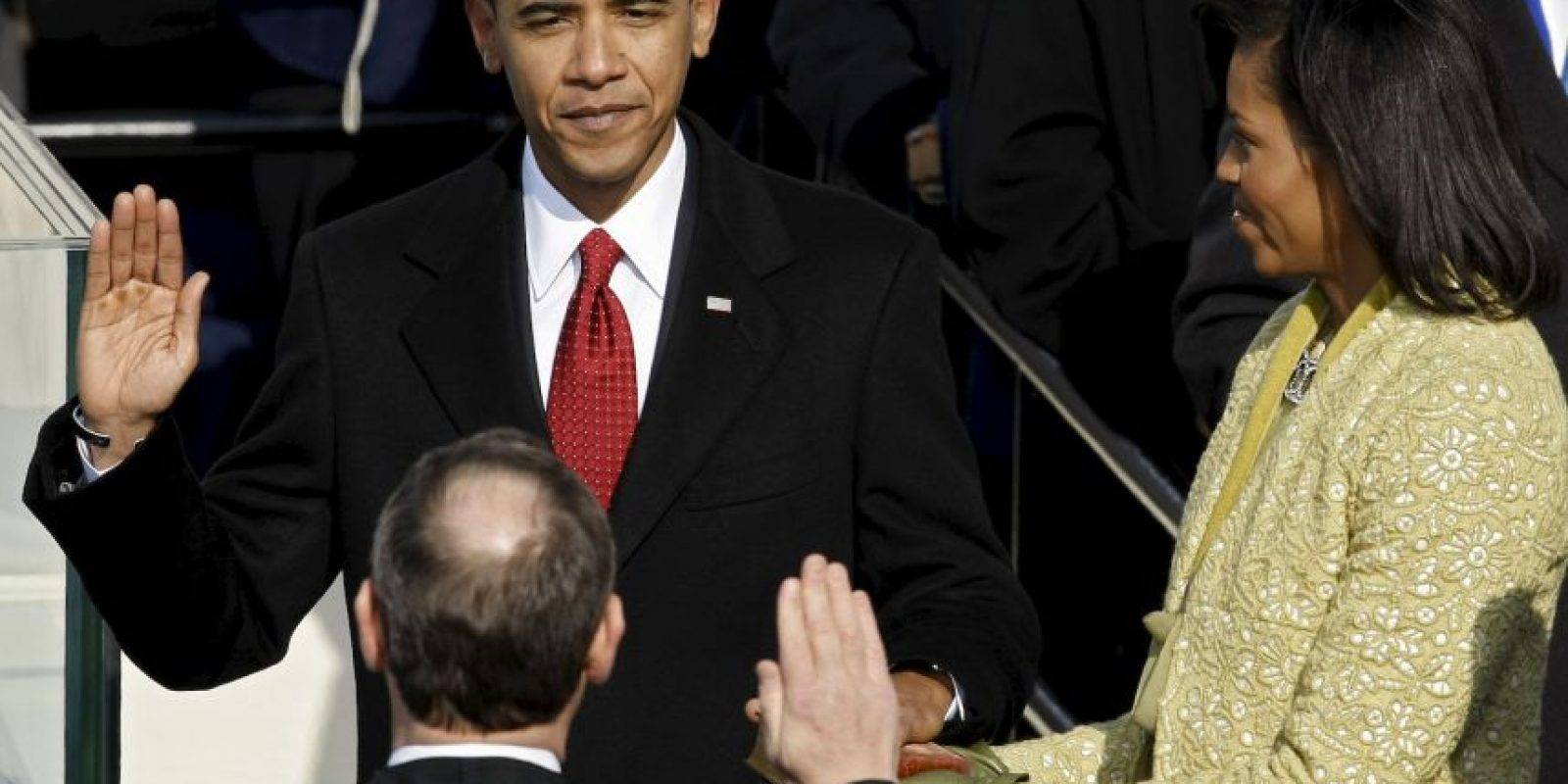 Barack Obama, 2009, inicio de su primer mandato Foto: Getty Images