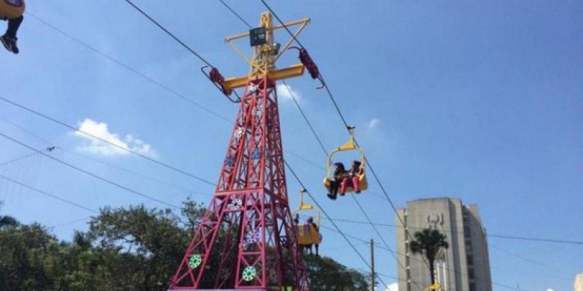 Los guatemaltecos disfrutan de un viaje navideño de altura