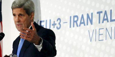 """Kerry aseguró que el objetivo no es alcanzar """"cualquier acuerdo, sino el acuerdo correcto"""". Foto:AP"""