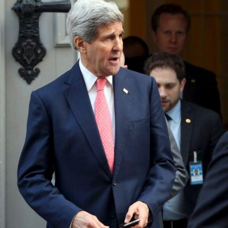 John Kerry, Secretario de Estado de la Unión Americana, dijo que las conversaciones han sido difíciles. Foto:AP