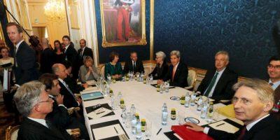 Las discusiones tomaron muchas horas. Foto:AP