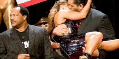 Mickie James y El Gran Khali Foto:WWE