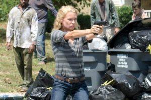 Es una sobreviviente con excelente manejo de las armas. Foto:Facebook/The Walking Dead