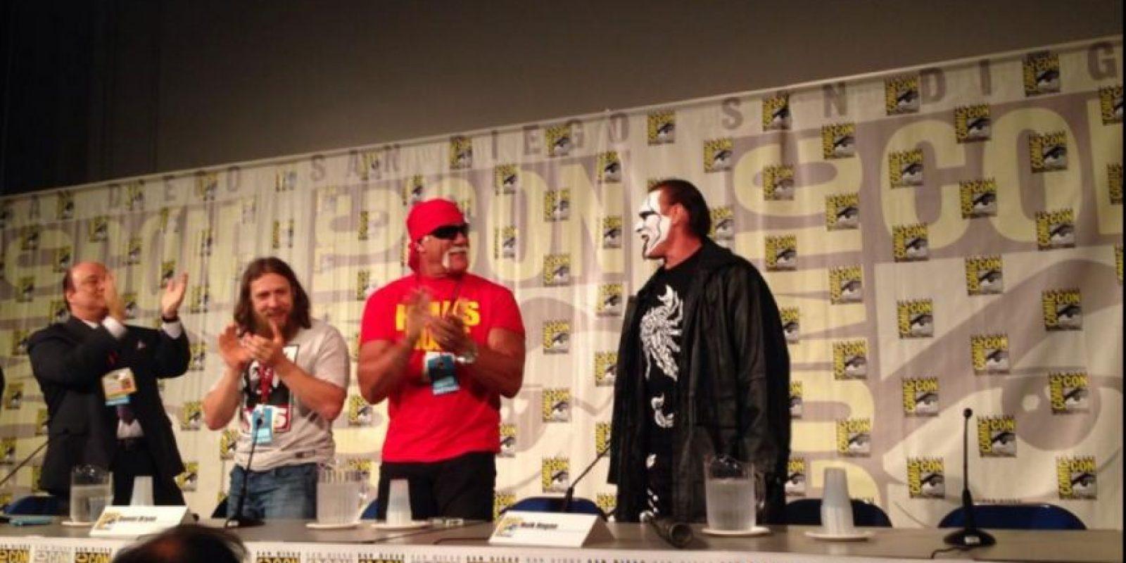 Aunque ganó en seis ocasiones el Campeonato Mundial de Peso Pesado de la WCW, nunca había formado parte de la WWE Foto:WWE