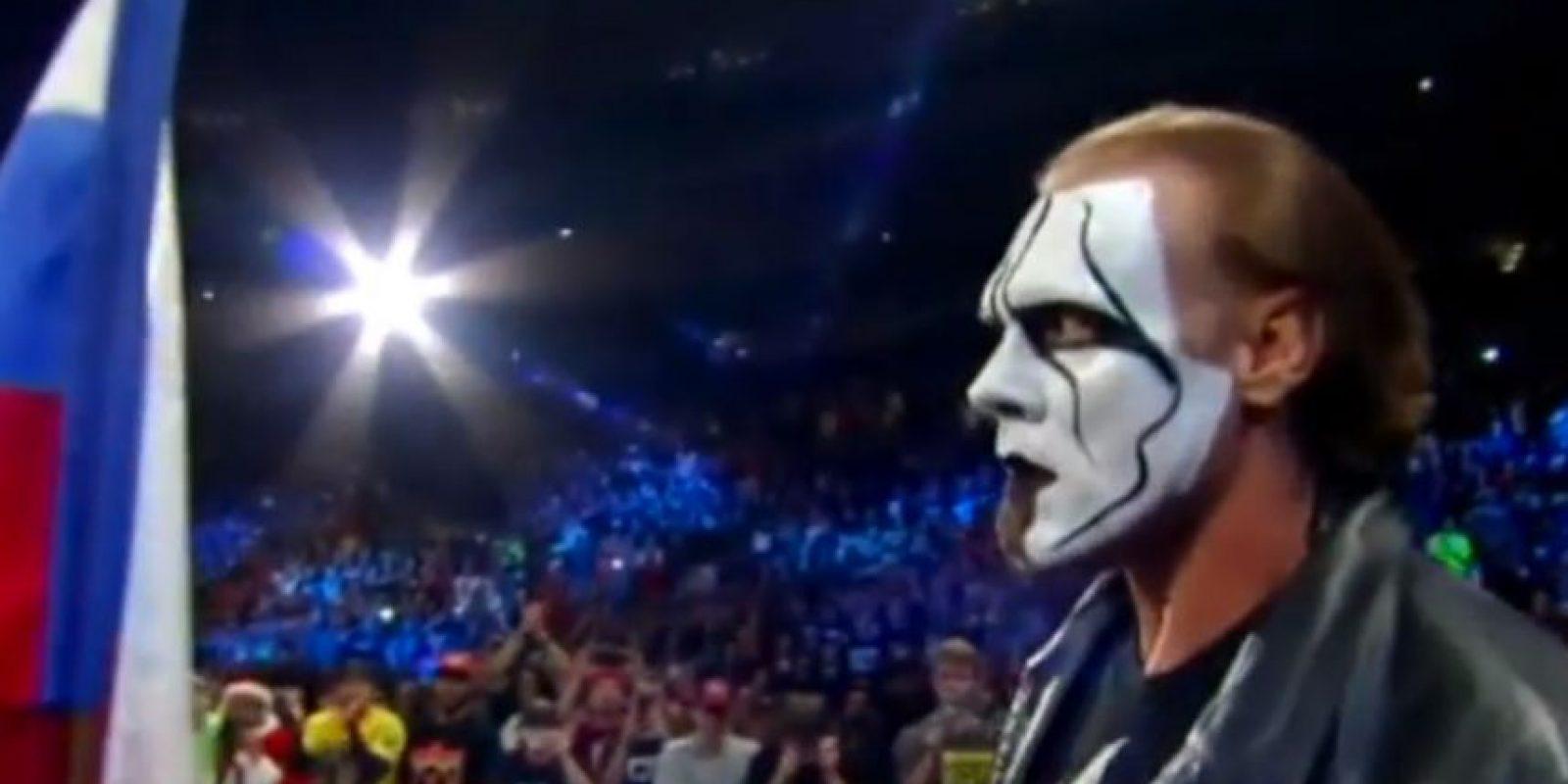 Cuando parecía que el Equipo de la Autoridad ganaría el combate principal de Survivor Series apareció Sting Foto:WWE