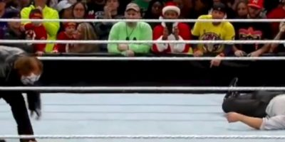 Ayudó a Ziggler a cubrir a Rollins Foto:WWE