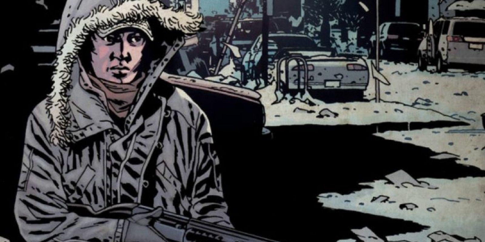 En el cómic, Glenn se casa con Maggie y adoptan a Sofía. El personaje muere al ser emboscado. Foto:thewalkingdead.com