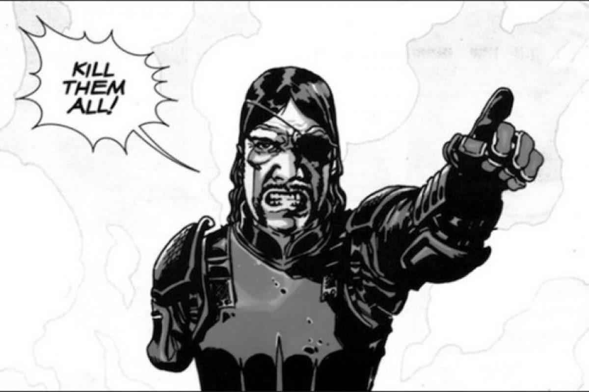 """En el cómic, Philip Blake """"El Gobernador"""" es un hombre amable, bromista y sádico, mientras que en la serie es encantador y seductor al grado de conquistar a Andrea. Foto:Thewalkingdead.wikia.com"""