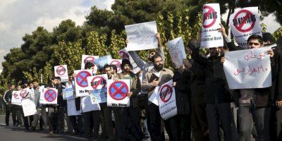 Hubo decenas de manifestantes. Foto:AP