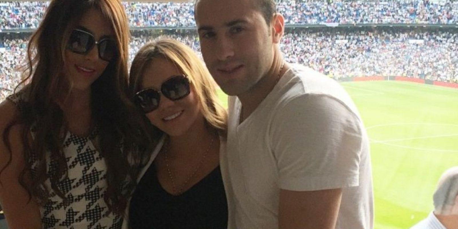 Aquí, con su cuñada Jessica Sterling y su hermano, el portero David Ospina Foto:Instagram/Daniela Ospina