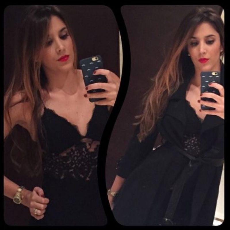 Esta es la última imagen que Daniela Ospina, la esposa de James Rodríguez, puso en su Instagram. Su nariz se ve distinta. Foto:Instagram/Daniela Ospina
