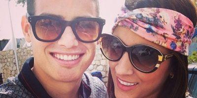 Con su esposo, James Rodríguez, en una foto antigua de Instagram Foto:Instagram/Daniela Ospina