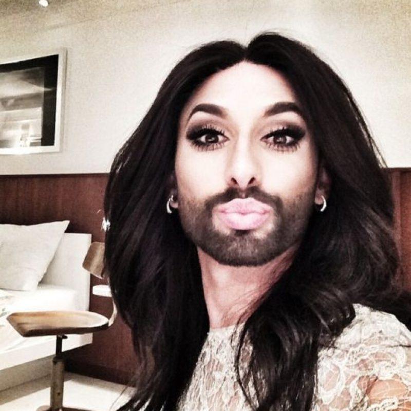 """Conchita Wurst, en estos momentos es la """"drag queen"""" más famosa del mundo Foto:Instagram/Conchita Wurst"""