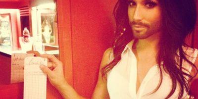 Ganó Eurovisión, representando a Austria. Foto:Instagram/Conchita Wurst