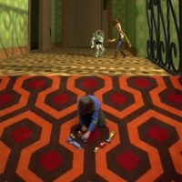 """15.- En la primera película, la alfombra que decora la casa de Sid es idéntica a la del hotel del filme """"The Shining"""". Foto:Twitter/Cinépolis"""