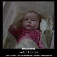 """En la serie, Judith es bautizada como la """"pequeña patea traseros"""" Foto:Twitter"""