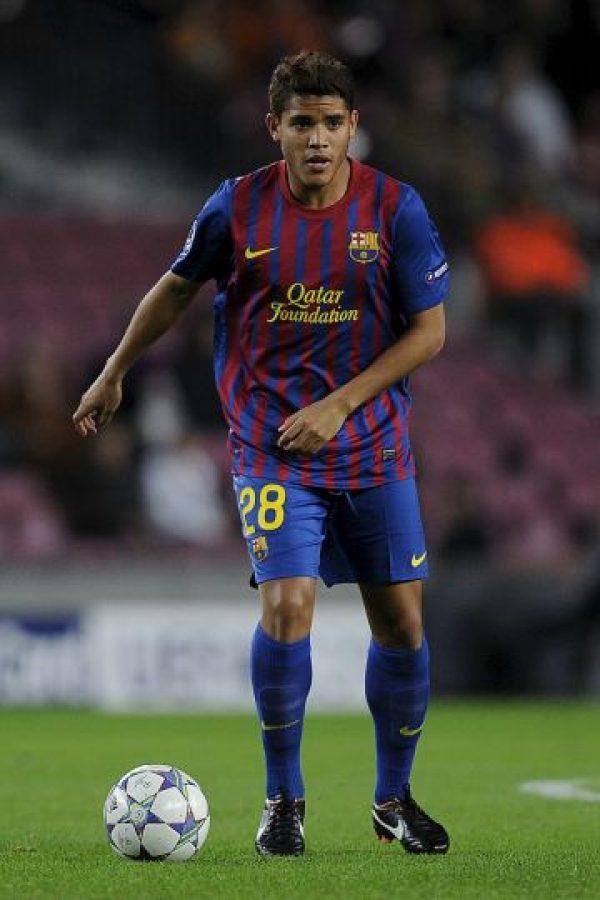Antes de jugar en el Villareal, era parte del Barcelona de España. Foto:Getty Images