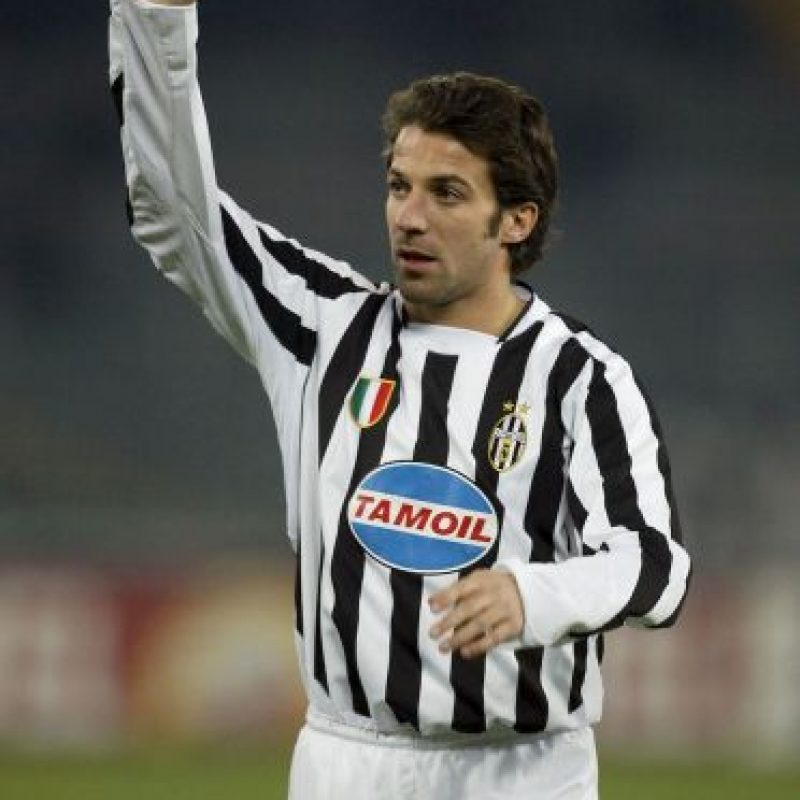 Del Piero solamente anotó con la Juventus. Foto: Getty Images