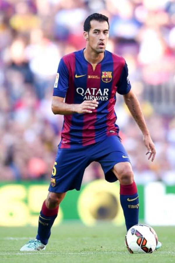 Sergio Busquets (España) Foto:Getty Images