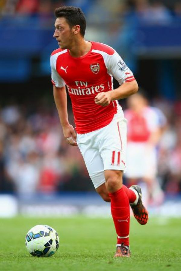 Mesut Özil (Alemania) Foto: Getty Images