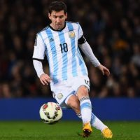 Messi es el máximo goleador de la Liga española, todos anotados con el Barcelona. Foto:Getty Images