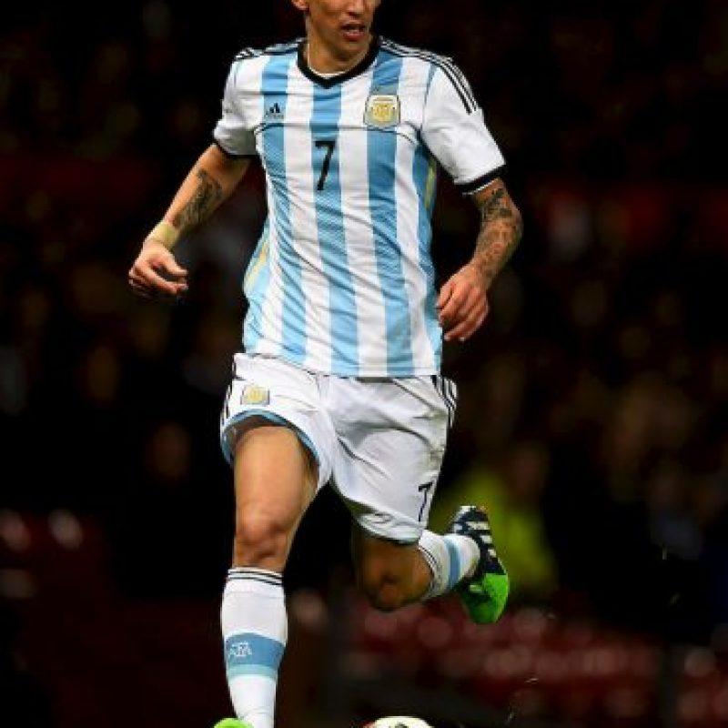 Di María consiguió la UEFA Champions League con el Real Madrid, el subcampeonato del mundo con Argentina y actualmente milita en el Manchester United. Foto:Getty Images