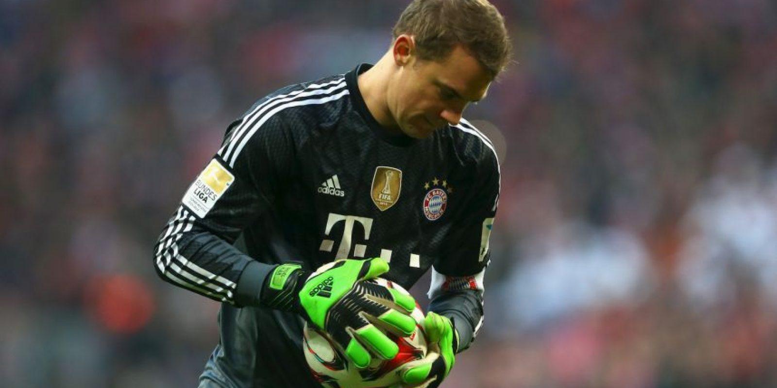 El portero alemán Manuel Neuer Foto:Getty
