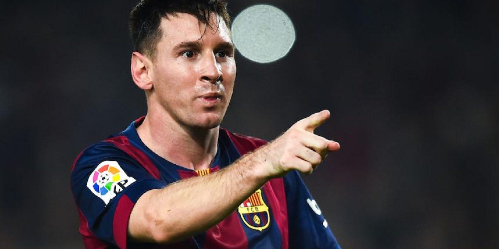 Messi tiene 71 goles en la historia de la UEFA Champions League. Foto:Getty Images