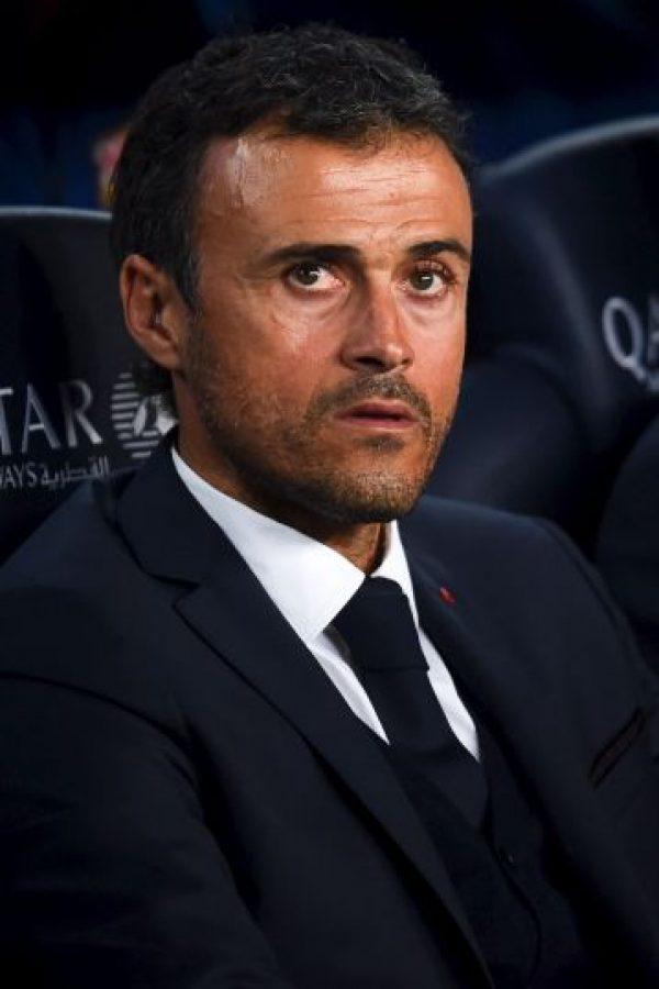 Luis Enrique, director técnico español del Barcelona. Foto:Getty Images