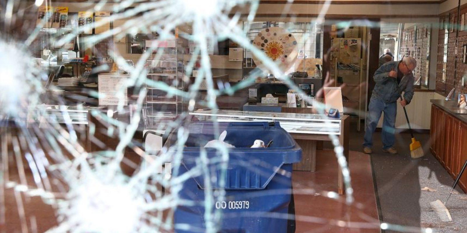 Local comercial en Ferguson, Missouri Foto:Getty Images